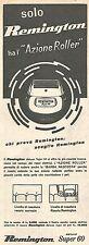 W8628 Rasoio elettrico REMINGTON - Pubblicità del 1958 - Vintage advertising