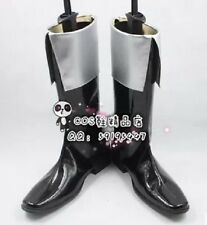 Castlevania Alucard Black Adult Halloween Cosplay Shoes Boots X002