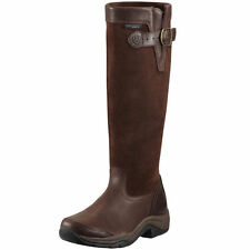 Ariat Derwent H20 Leather Long Tall Horse Riding Waterproof Brown Boots NEW