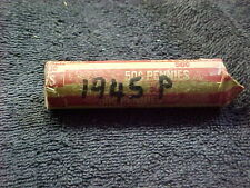 1945 P  LINCOLN WHEAT PENNY ROLL
