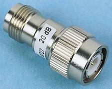 50Î © RF atténuateur droit TNC connecteur TNC Plug to TNC Socket 20dB, d'exploitation