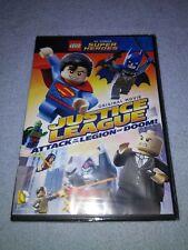 LEGO DC Comics Super Heroes:Justice League Attack of the Legion of Doom DVD