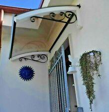 Abris bois DIY d'entrée fenêtre -Auvent banne entrée -Plantilla LEGNO RICCIO MIX