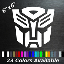 Decepticon Decal Transformers Sticker Car Truck Machine Self Adhesive New Color