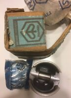 Piston, Piaggio, 55.445mm, 2-ring, for Vespa scooter, NOS