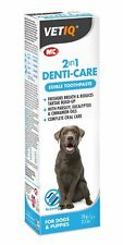 Vetiq Mark & Chappell 2 in 1 Denti-Care for Dogs Puppies 70g No Brushing Tartar