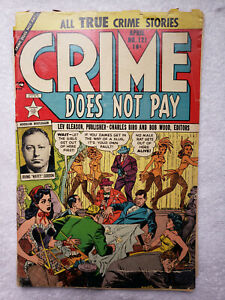 Crime Does Not Pay #121 (Apr. 1953, Leve Gleason) [GD- 1.8]