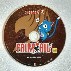 Fairy Tail Collection 2 disc 3 DVD