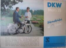Prospekt DKW Mofa 25  -  Zweirad Union