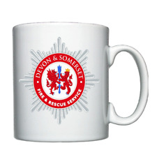 Devon and Somerset Fire and Rescue - Personalised mug