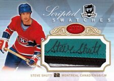 07-08 The Cup SCRIPTED SWATCHES xx/25 Made! Steve SHUTT - Canadiens