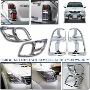 For 11-15 Toyota Hilux Sr6 Pickup Kun V4,6 Head Lamp Rear Tail light Cover Trim