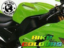 KAWASAKI TOUCH UP PAINT KIT 2004-06 ZX10R FRAME COLOUR FLAT STOIC BLACK