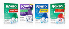 Rohto Cooling eye drops - variety - Maximum Strength, Dual Action, All in One