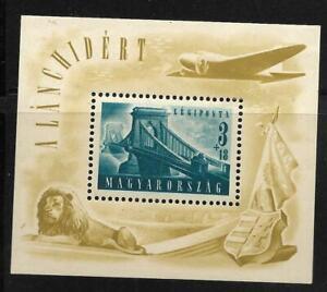 #J- - Hungary -  Airmail Semipostal S/S -  Mint  --Scott#   CB2