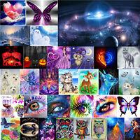 5D DIY Full Drill Diamond Painting Fantasy Butterfly Wall Art Cross Room Decor
