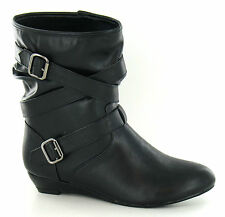 Wedge Low Heel (0.5-1.5 in.) Pull On Boots for Women