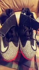 Mens Nike Air Griffey Max 1 Size 14 Black Silver Red 586090-001 - Used