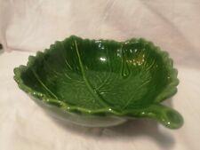 More details for deep green leaf fruit bowl (ref 404)