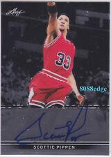 2012-13 LEAF METAL AUTO: SCOTTIE PIPPEN -ON CARD AUTOGRAPH BULLS 8x ALL-NBA TEAM