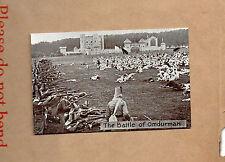 1920's Aldershot Military Tattoo card 1 The battleof Omduran art