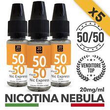 X5 NEBULA NICOTINA 10ml 20mg/ml NIC EXPRESS per Sigaretta Elettronica