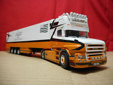 Tekno Scania T Topline tractor with refridgerated trailer - An Amzer Goff France