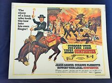 Original 1971 SUPPORT YOUR LOCAL GUNFIGHTER Movie Poster 22 x 28 Western /Comedy