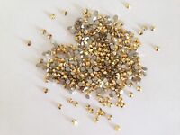 AURUM GOLD(144pcs)  9ss 2.5mm  SWAROVSKI ,No hotfix,Crystal Flatback 2058