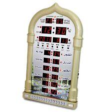 Islamic Quran Watch Automatic Azan Wall Clock Muslim Prayer Ramadan Gift Home