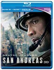 San Andreas Blu-ray Region B 3d 2015