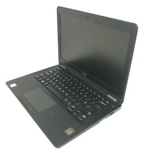 """12.5"""" Dell Latitude E7270 Laptop Core i5-6300U 2.40GHz 4GB DDR4 128GB SSD Webcam"""