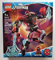 LEGO Marvel Spider-Man 76171 MILES MORALES MECH ARMOR 125 pcs NEW FREE SHIP