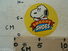 STICKER,DECAL SNOOPY YELLOW