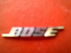 "Bose SoundDock Series 1 Name Badge (""Bose"")"
