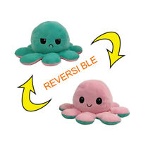 Double-Sided Flip Reversible Octopus Plush Toy Squid Stuffed Doll Toys Gift