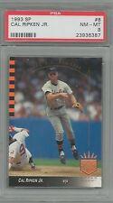 1993 SP # 8 Cal Ripken Jr. PSA 8