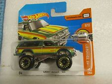 HOT WHEELS 2017 130/365  HOT TRUCKS 8/10 CHEVY BLAZER 4X4 NEW ON CARD