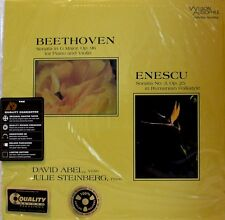 Analogue Productions-AAPC - 8315-Beethoven-Enescu-Sonatas - 200 grams