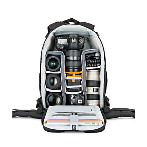"New Lowepro Flipside 400 AW II DSLR Camera  Photo Bag & 15"" Laptop Backpack Case"