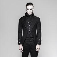 Punk Rave Men's Gothic Victorian Steampunk Wedding Elegant Tailcoat Jacket