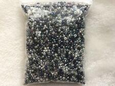 Wholesale 6800pcs Lot Bulk 11/0 Glass Seed Bead 100g AWESOME DEAL Black & White