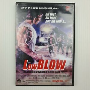 Low Blow DVD - Leo Fong - Cameron Mitchell - Region 4 - FREE TRACKED POSTAGE