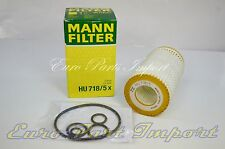 Mercedes Benz MANN-FILTER OIL FILTER OEM Quality HU718/5X