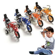 1 Pcs Pull Back Motorcycle Vehicle Toys Gifts Children Kids Motor Bike Model Pop