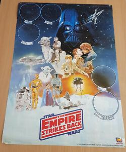 Star Wars - 3 Vintage Posters (2xESB & 1ROTJ) - Rare