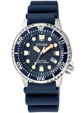 Citizen Promaster Sea Diver Womens Watch EP6051-14L Analogue Rubberband 20Bar