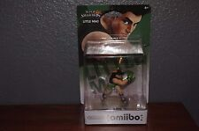 NEW SEALED US Version Little Mac Amiibo Super Smash Bros Wii U USA Seller