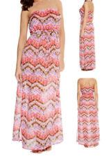 Vestido largo de mujer de color principal rosa