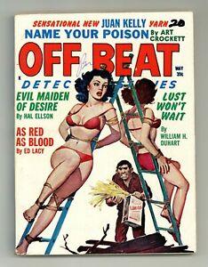 Off Beat Detective Stories #Vol. 5 #6 FN- 5.5 1962
